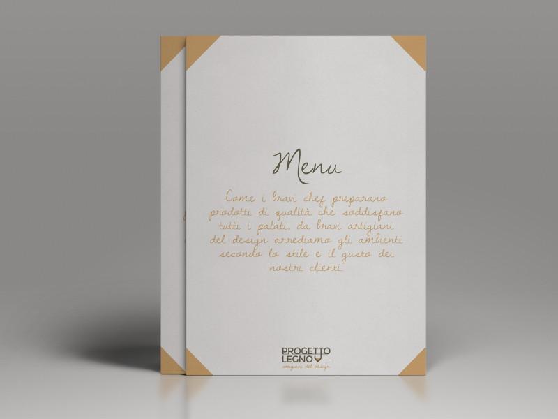 Cover Pieghevole Progetto Legno