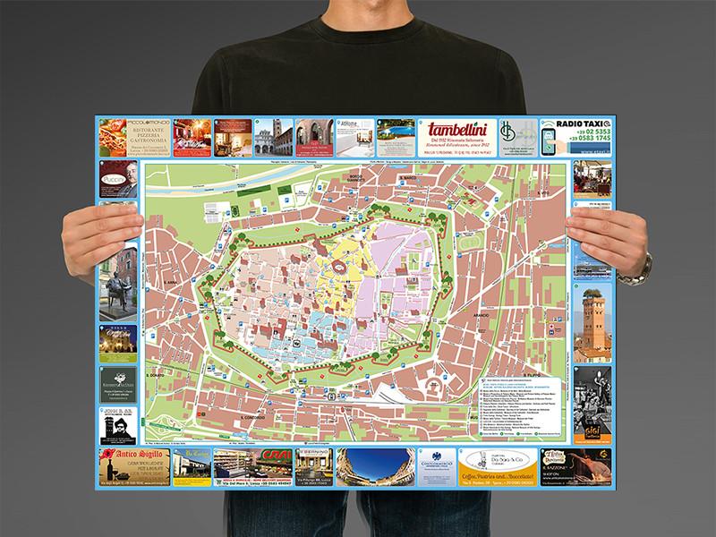 Mappa Grande Lucca