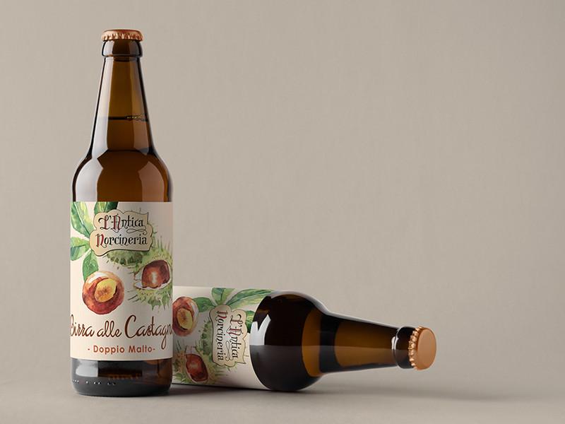 Beer Bottle Antica Norcineria
